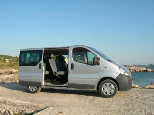 Nissan Primastar 9 Persone Dci 115cv Affitto Auto Menorca