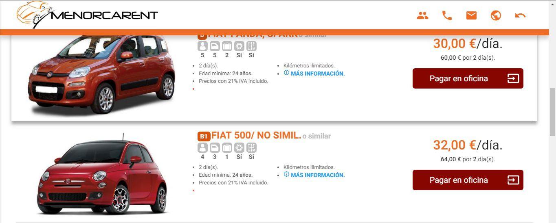 noleggio auto prezzo